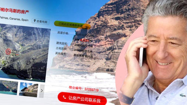 Reserva natural canaria a la venta en China: constructor busca 'pelotazo' millonario