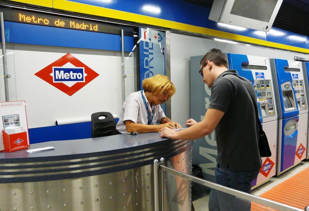 Foto: Imagen de una taquilla del Metro de Madrid. (Metro de Madrid)