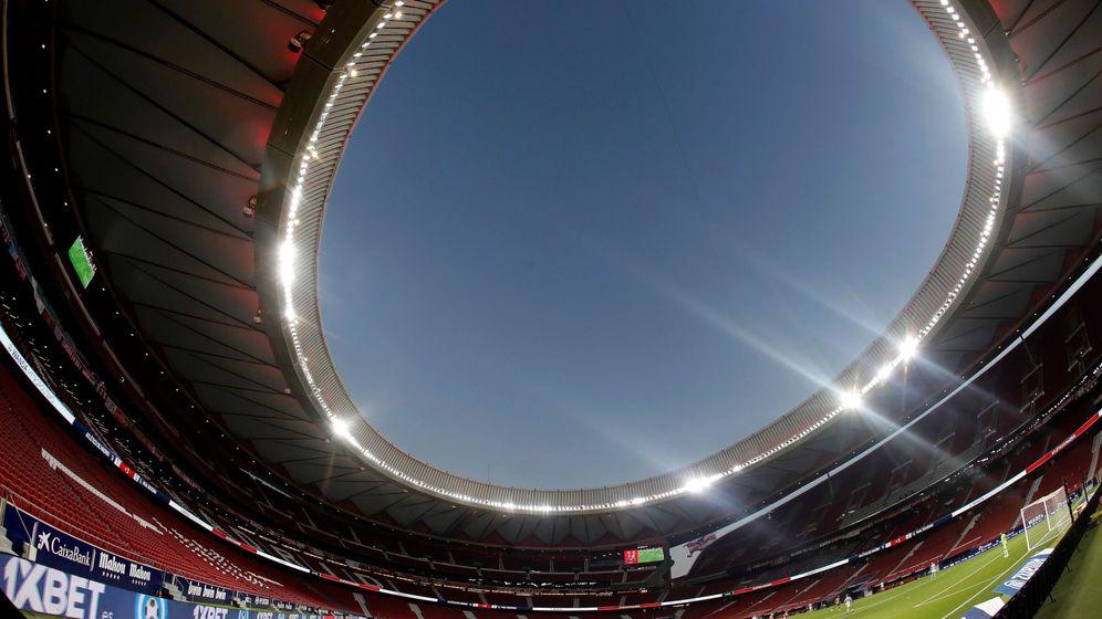Foto: Imagen del estadio Wanda Metropolitano.