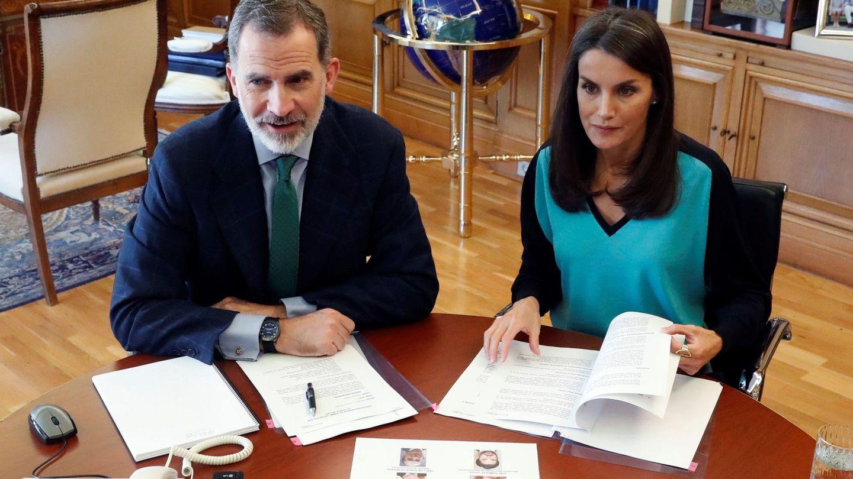 Don Felipe y doña Letizia. (Casa Real)