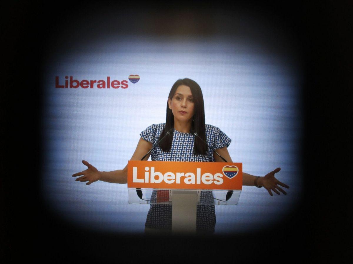 Foto: La líder de Cs, Inés Arrimadas. (EFE)