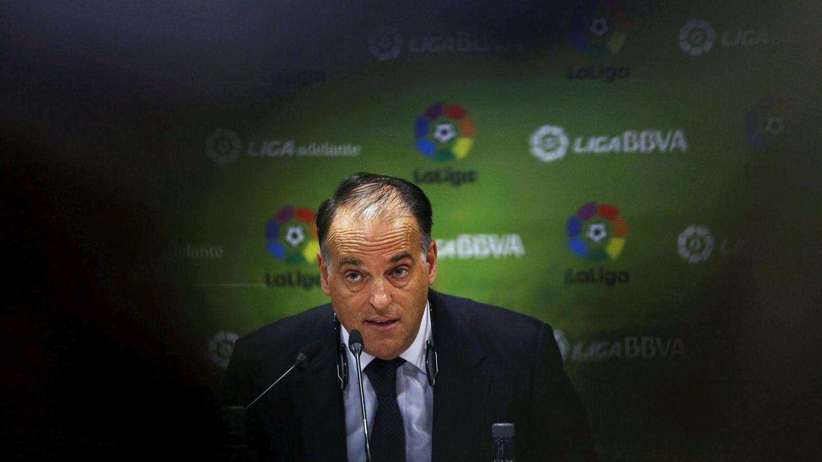 Foto: Javier Tebas, presidente de LaLiga