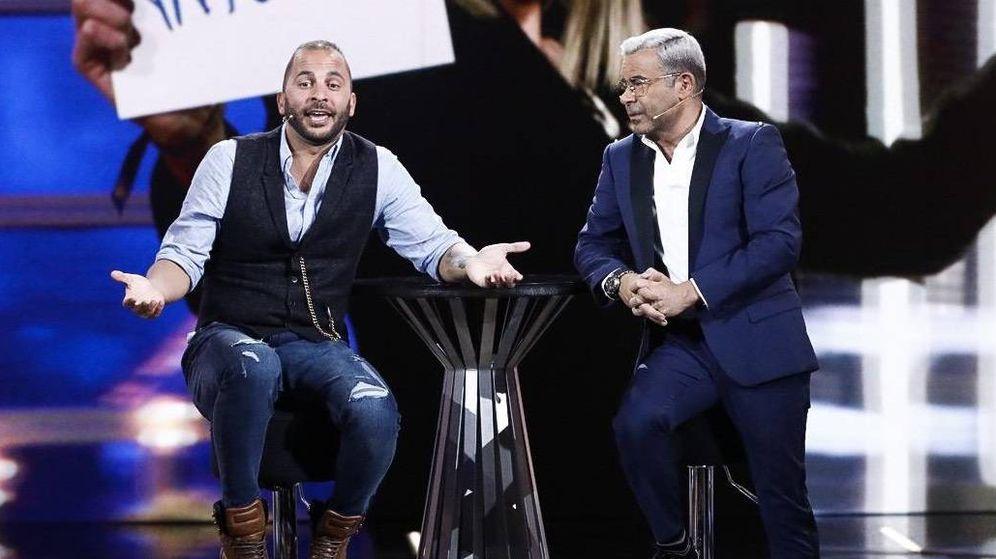 Foto: El polémico recibimiento en Jorge Javier a Antonio Tejado en 'GH Dúo'. (Telecinco)