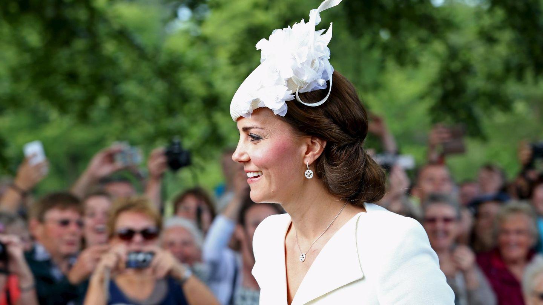 Kate Middleton, el día del bautizo de Charlotte. (Reuters)