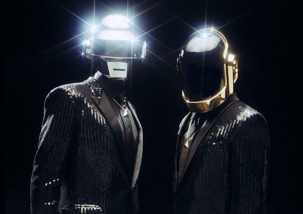 Foto: Foto promocional del último disco de Daft Punk