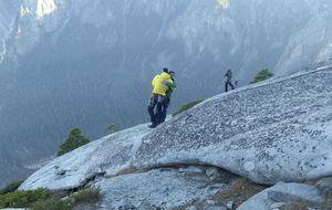 Los 'Spiderman''de Yosemite hacen historia al coronar El Capitán