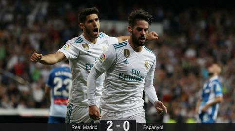 Isco, el alma ratonera del Madrid cuando la defensa del rival se cierra