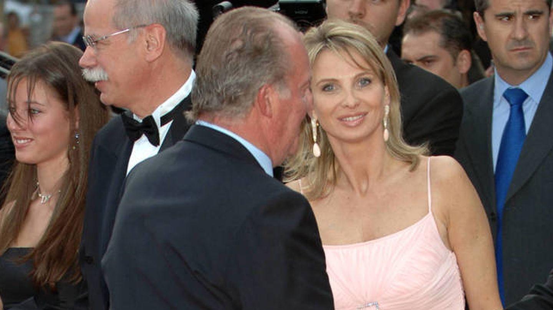 El rey Juan Carlos y Corinna, en una imagen de archivo.