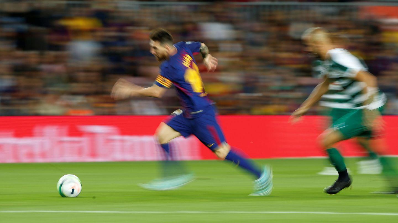 No hay nadie que pare a Messi. (Reuters)