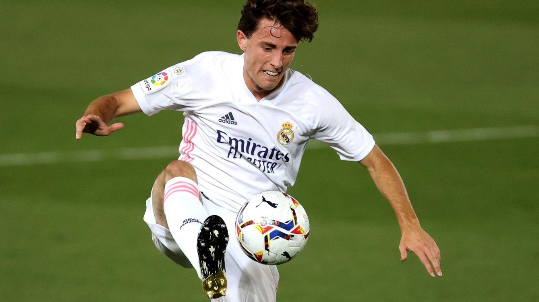 Odriozola no levanta cabeza: lleva dos años perdidos en el Real Madrid