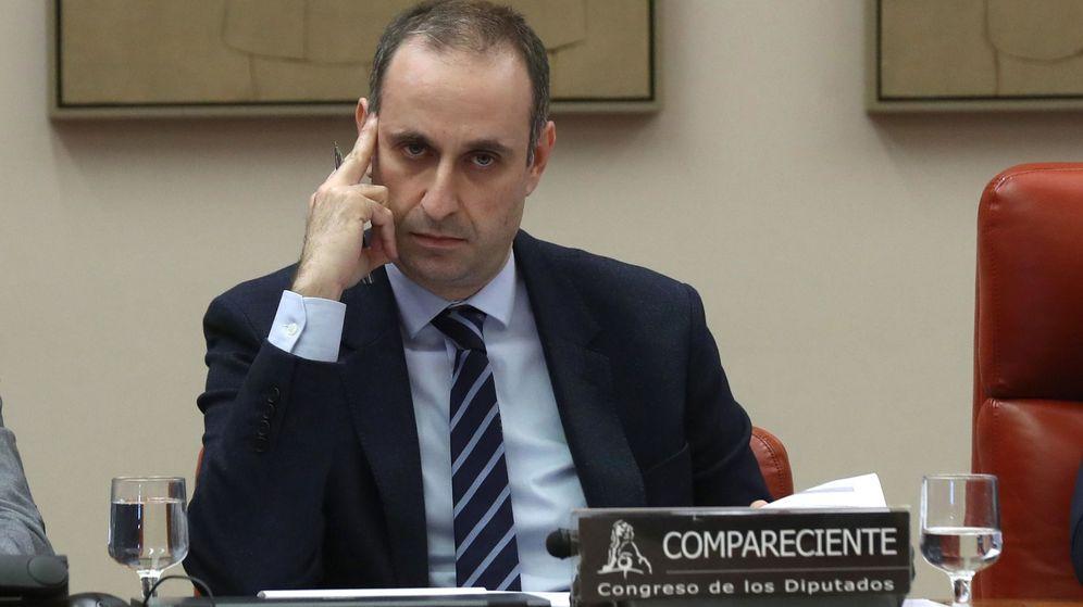 Foto: Comparecencia Jaime Ponce, presidente del Frob