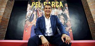 Post de Laporta, a la reconquista del Barça, con la 'guerra' Telefónica-Mediapro de fondo