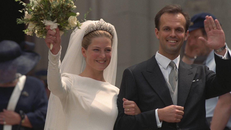 Tatiana, el día de su boda. (Getty)