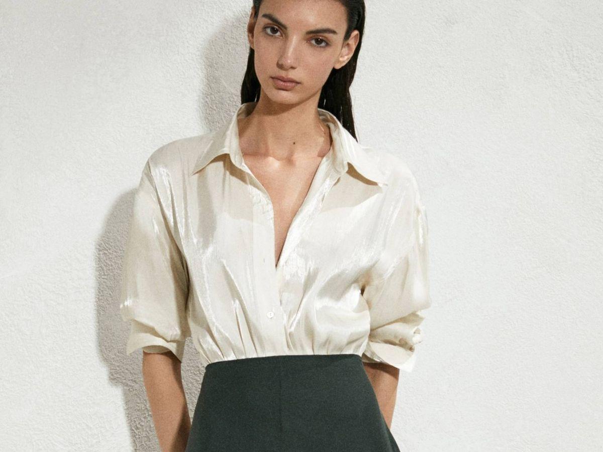Foto: Nueva falda de Massimo Dutti. (Cortesía)