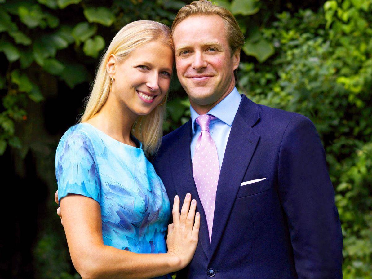 Foto: Lady Gabriella Windsor y su marido, Thomas Kingston. (Getty)