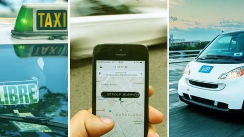 Uber, Cabify o Car2Go: probamos las alternativas al taxi. ¿Cuál es mejor?