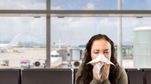 Trucos para no contraer la gripe cuando viajas en avión
