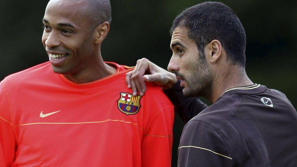 """Henry, sobre Guardiola: """"Aprendí a jugar al fútbol de nuevo a los 30 años"""