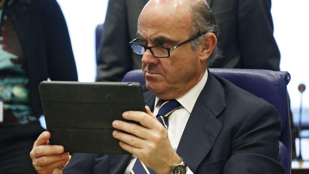 Foto: El ministro de Economía en funciones, Luis de Guindos.
