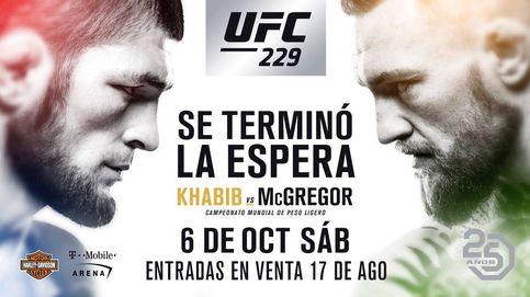 McGregor vs Khabib: horario y dónde ver el combate de la UFC en directo desde España
