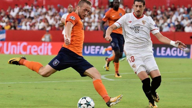Antena 3 lidera con el Sevilla FC - Istanbul Basaksehir de Champions, lo más visto