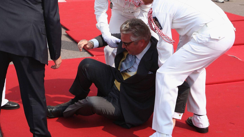 Laurent por los suelos de Mónaco. (Getty Images)