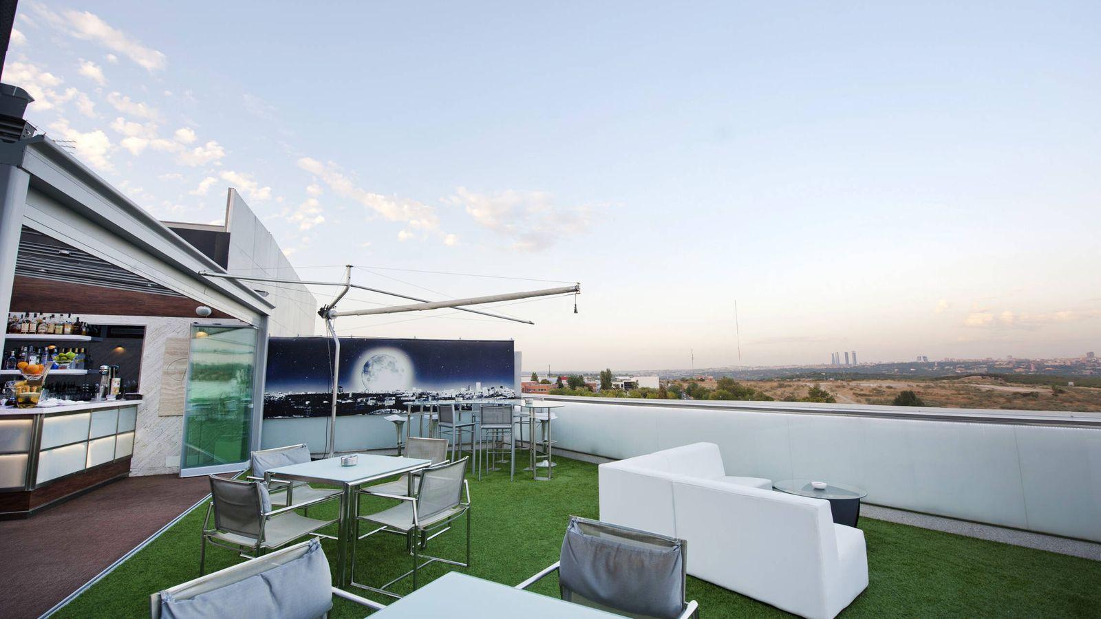 Foto: Terraza de El Cielo de Urrechu.