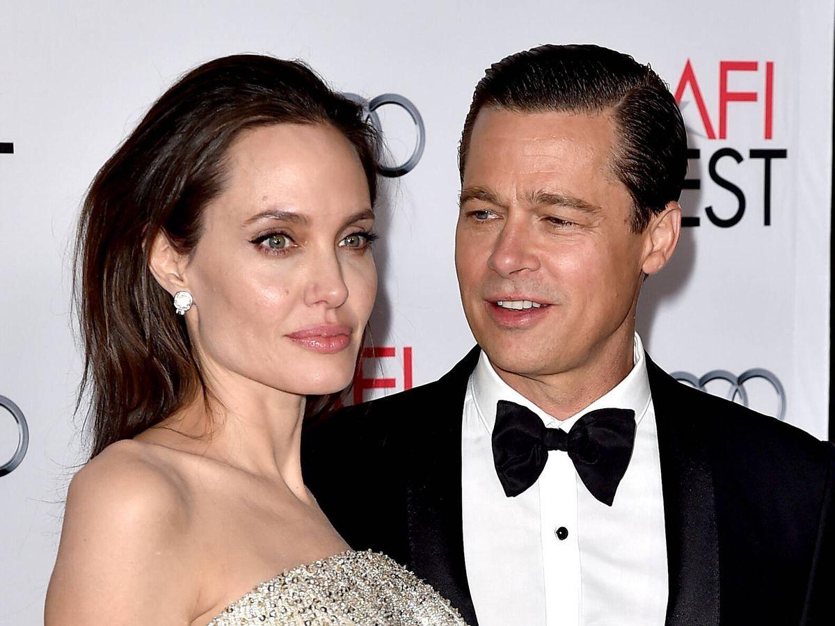 Foto: Brad Pitt y Angelina Jolie, en una imagen de 2015. (Getty)