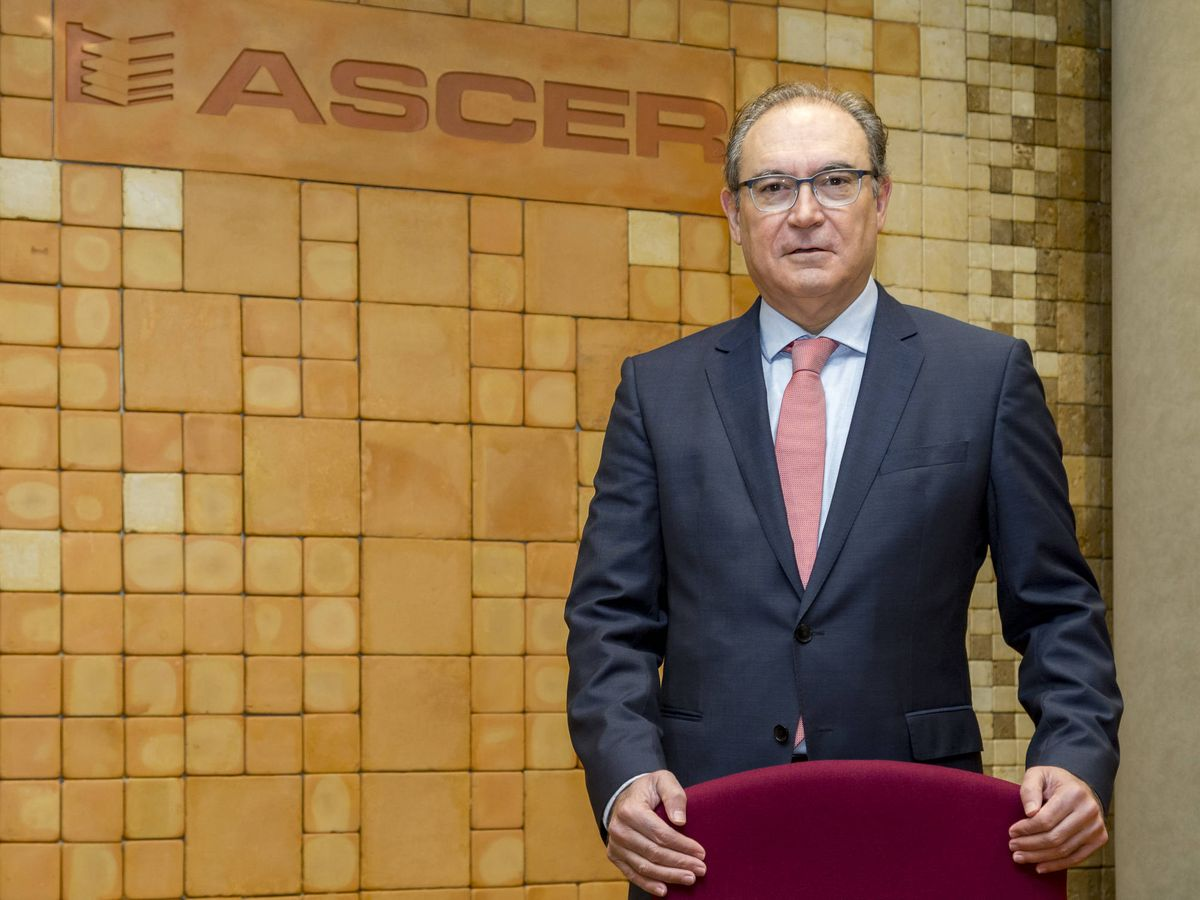 Foto: Vicente Nomdedeu, presidente de la patronal azulejera Ascer.