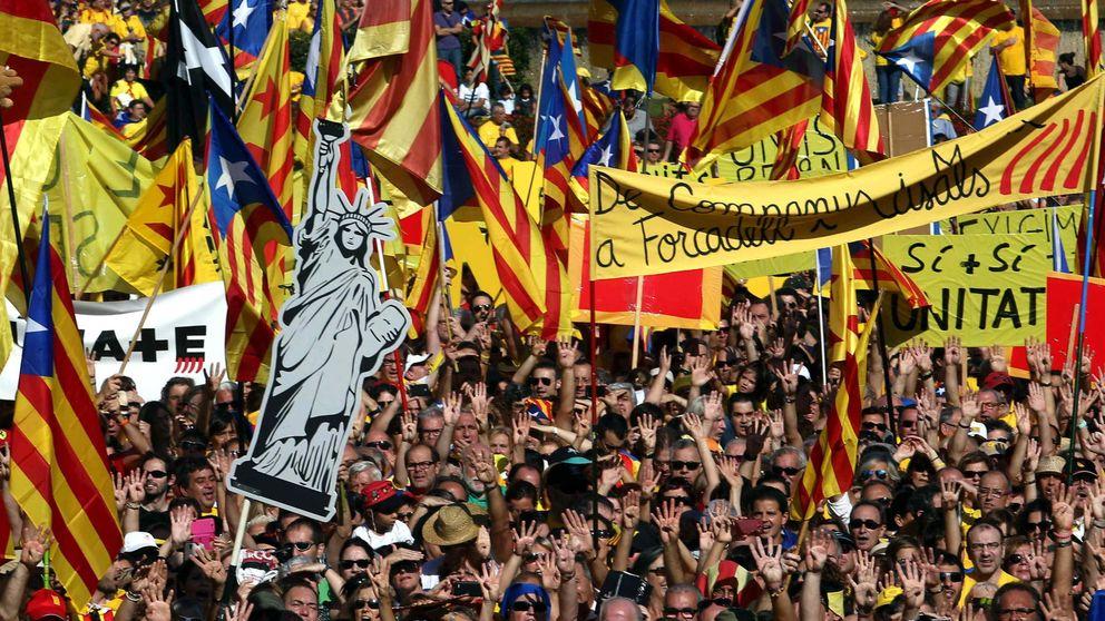 Los partidos catalanes dinamitan la ANC tras usar su movilización