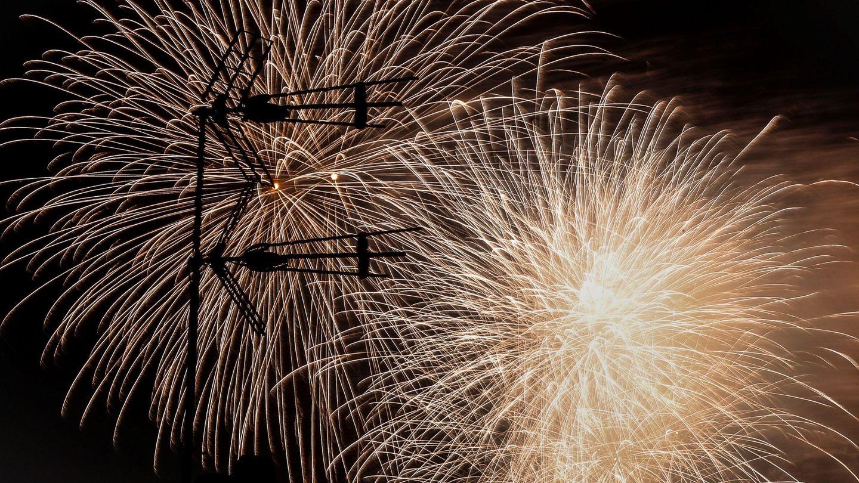 El Concurso Internacional de Fuegos Artificiales de la Semana Grande de San Sebastián.