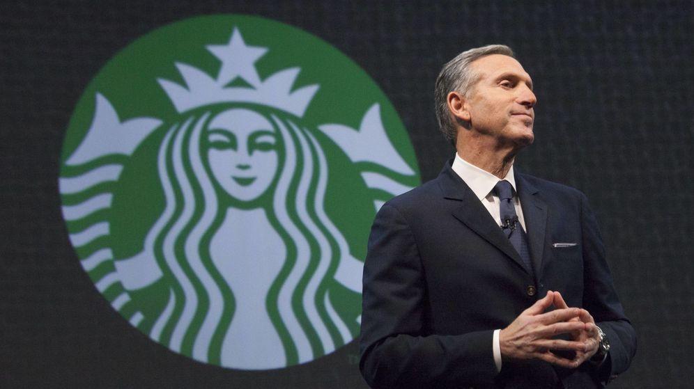 Foto: Howard Schultz, presidente de Starbucks. (Reuters)