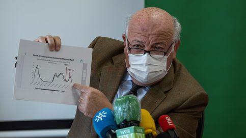 Andalucía suma más de 2.200 contagios por segundo día, anota 9 muertes y sube su tasa