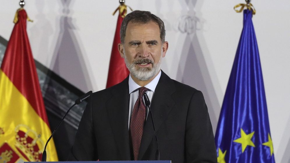 Foto: Fotografía del rey actual, Felipe VI. (EFE)
