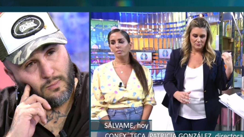 Kiko Rivera, Anabel Pantoja y Carlota Corredera. (Telecinco).