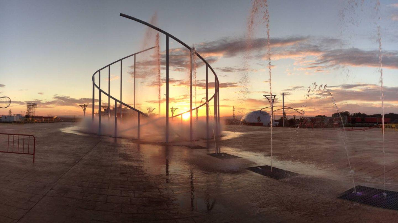 El abandono de la fuente de las estrellas en Rock in Rio.