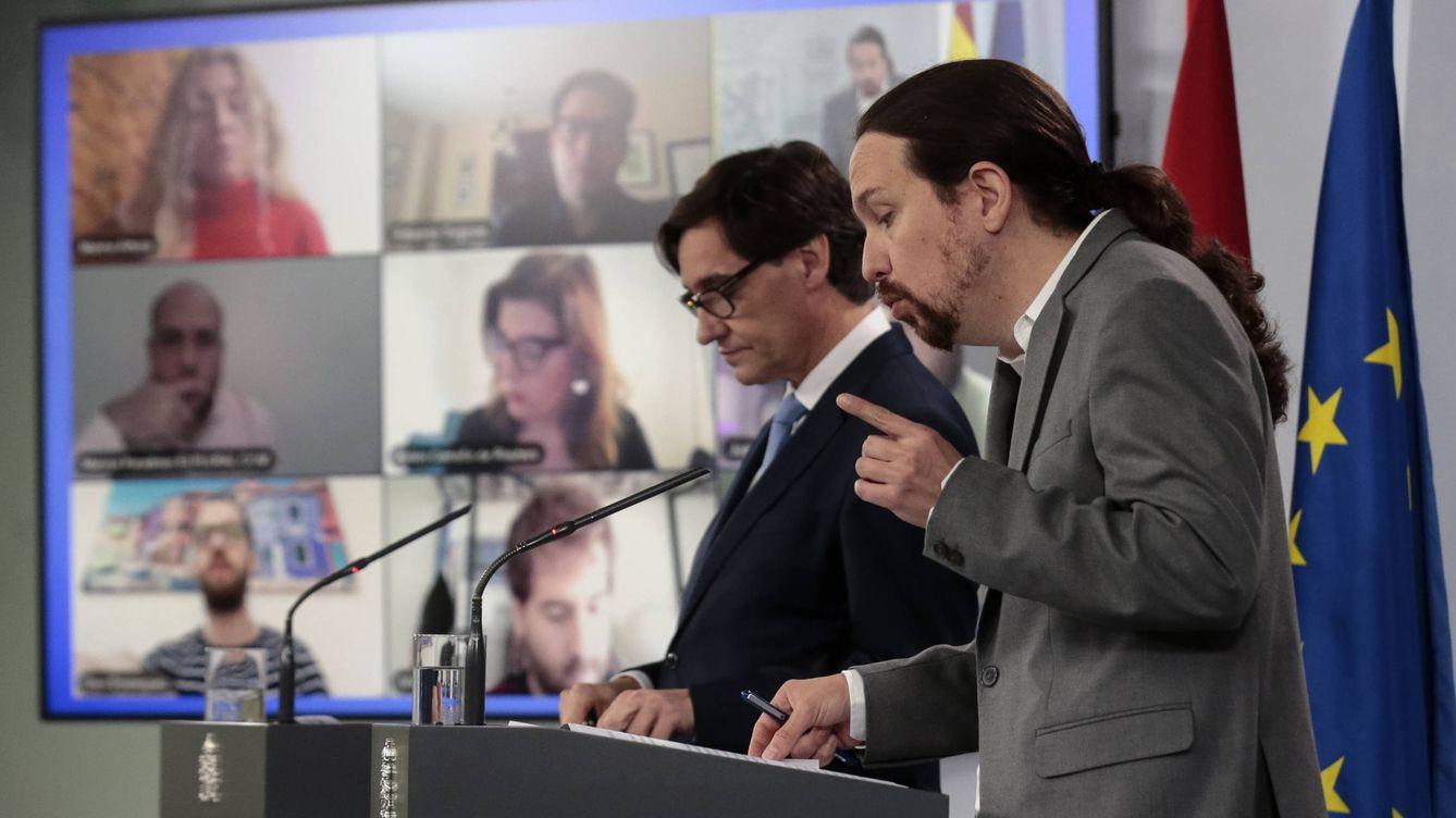 El PSOE huye del choque de Iglesias con el CGPJ y Podemos vincula a Lesmes con el PP