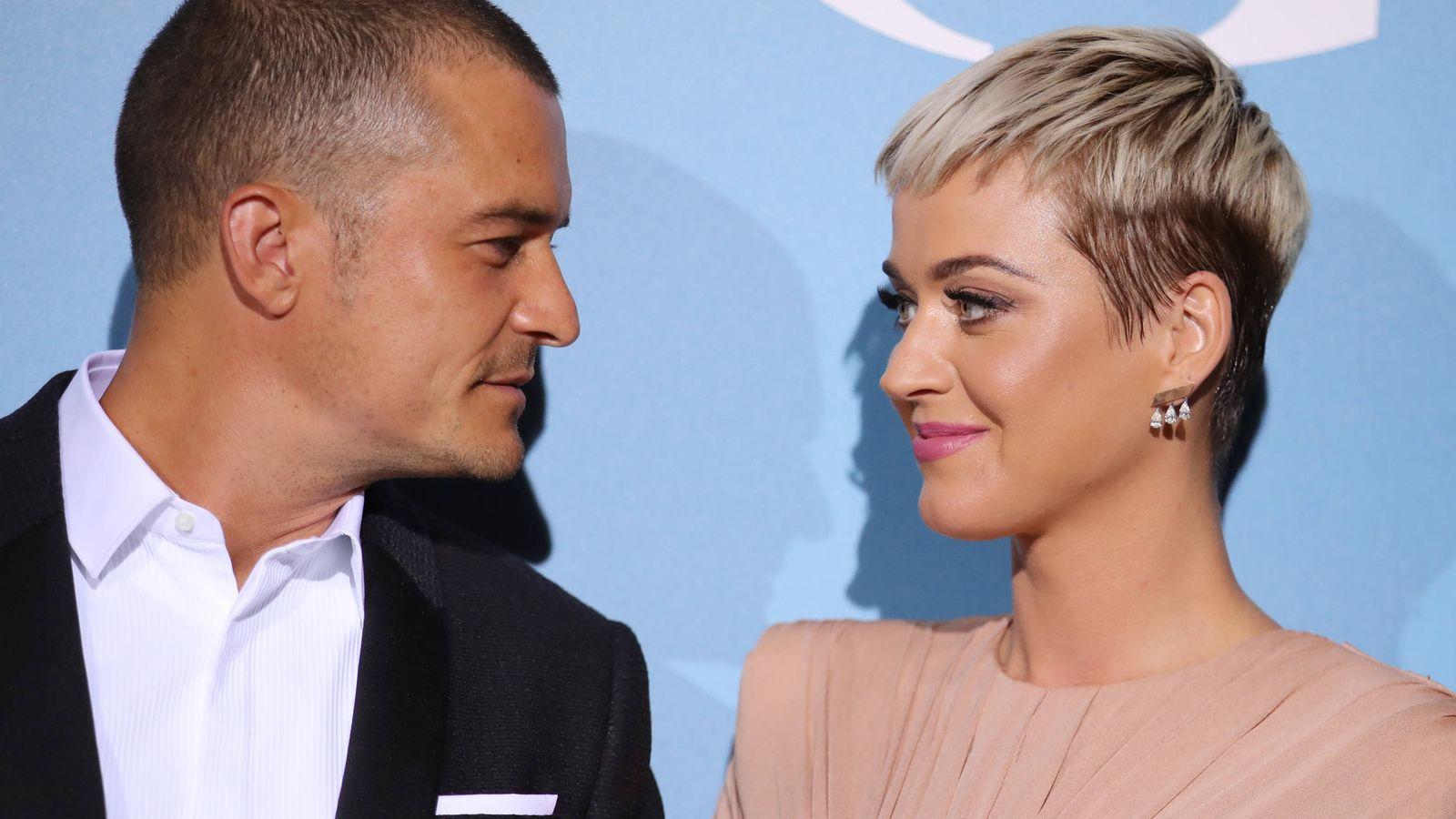Foto:  Orlando Bloom y Katy Perry. (Getty)