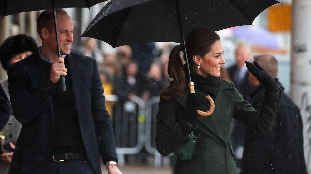 Foto: Los duques de Cambridge a su llegada a Blackpool. (Reuters)
