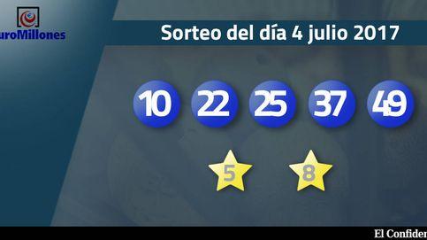 Resultados del sorteo del Euromillones del 4 de julio de 2017
