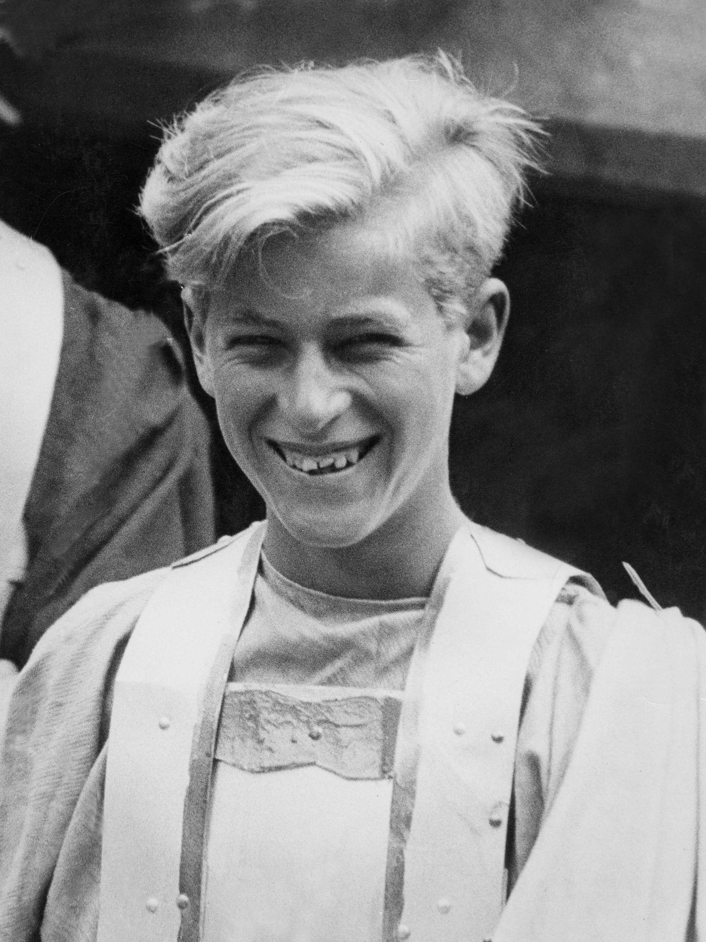 El joven Felipe de Grecia. (CP)