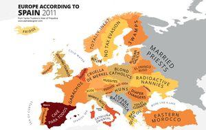 El gran mapa de los estereotipos europeos