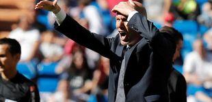 Post de Las cruces que se hace Zidane y la obsesión en el Real Madrid por evitar más bochornos