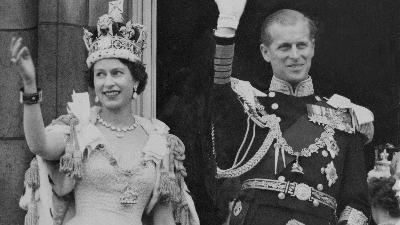 Coronación de Isabel II. (CP)