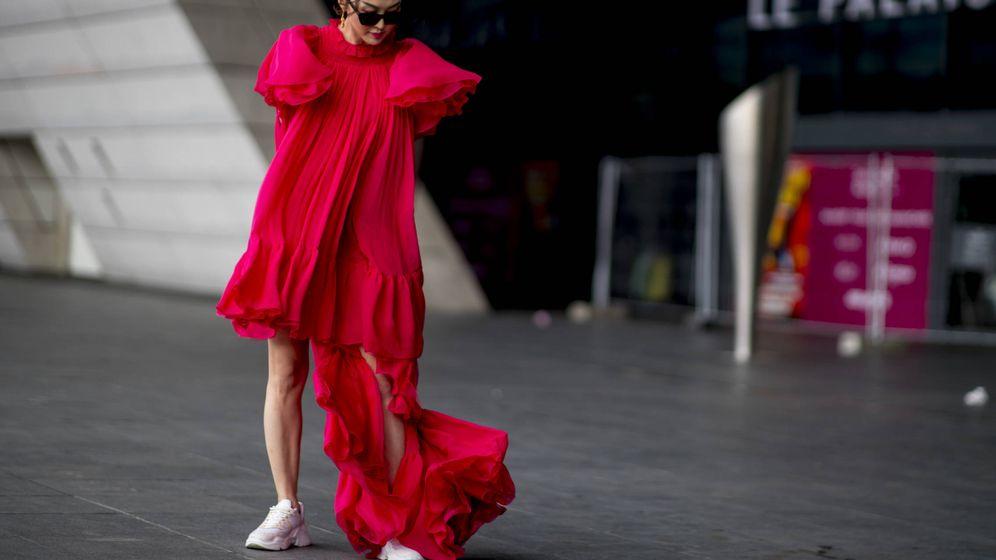 Foto: Street style de la Semana de la Moda de París otoño-invierno. (Imaxtree)