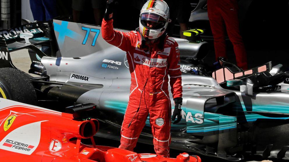 Vettel gana (por fin), con Alonso octavo y Sainz sin puntos