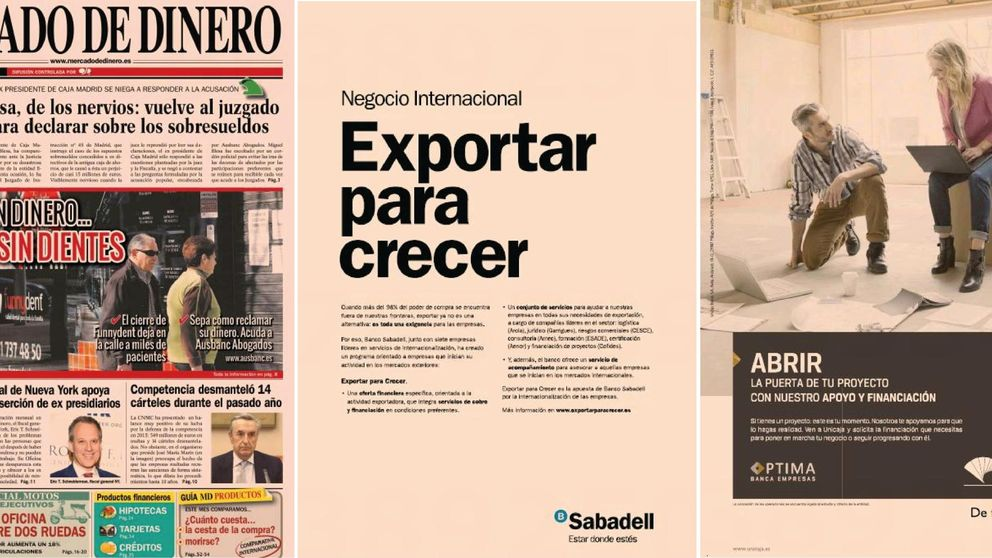 Unicaja, Caja Rural, Santander y Caixa lideraban la publicidad en Ausbanc