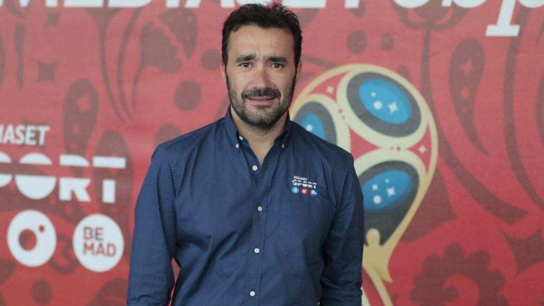 Juanma Castaño, en una presentación de 'Deportes Cuatro'. (Mediaset)