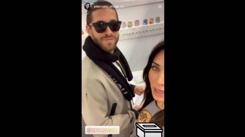 El controvertido 'descuido' de Sergio Ramos y Pilar Rubio cuando animaron a votar