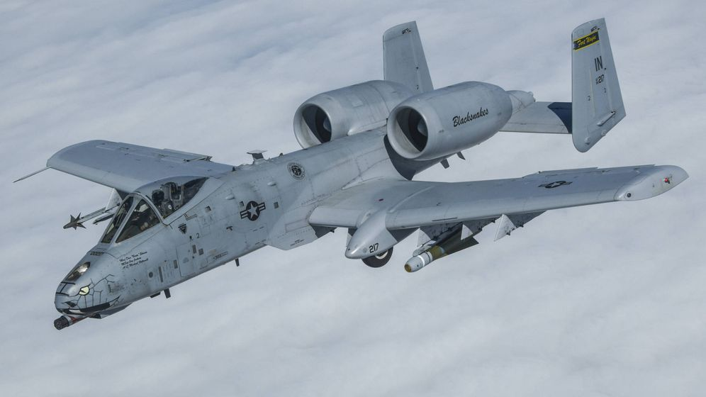 Foto: A-10 Thunderbolt II del 122nd Fighter Wing (USAF)